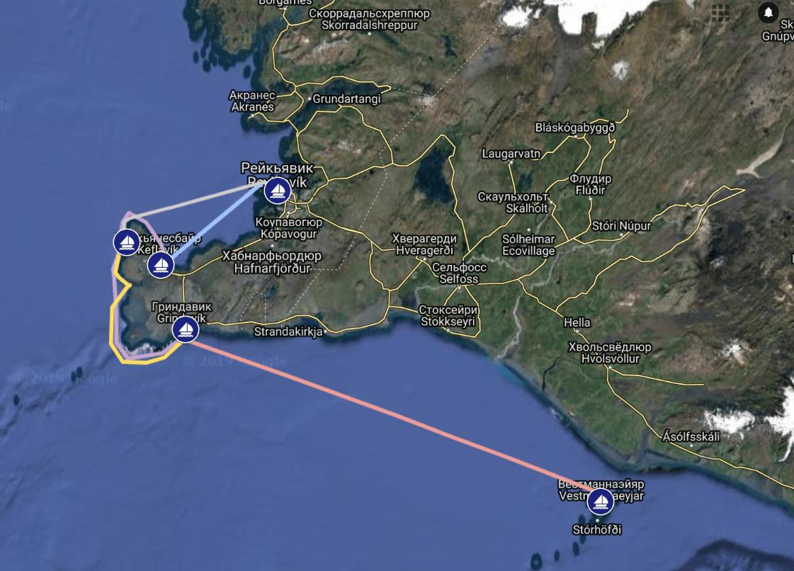 Семейный яхтинг в Исландии: Маяки, Гейзеры, Водопады, Айсберги
