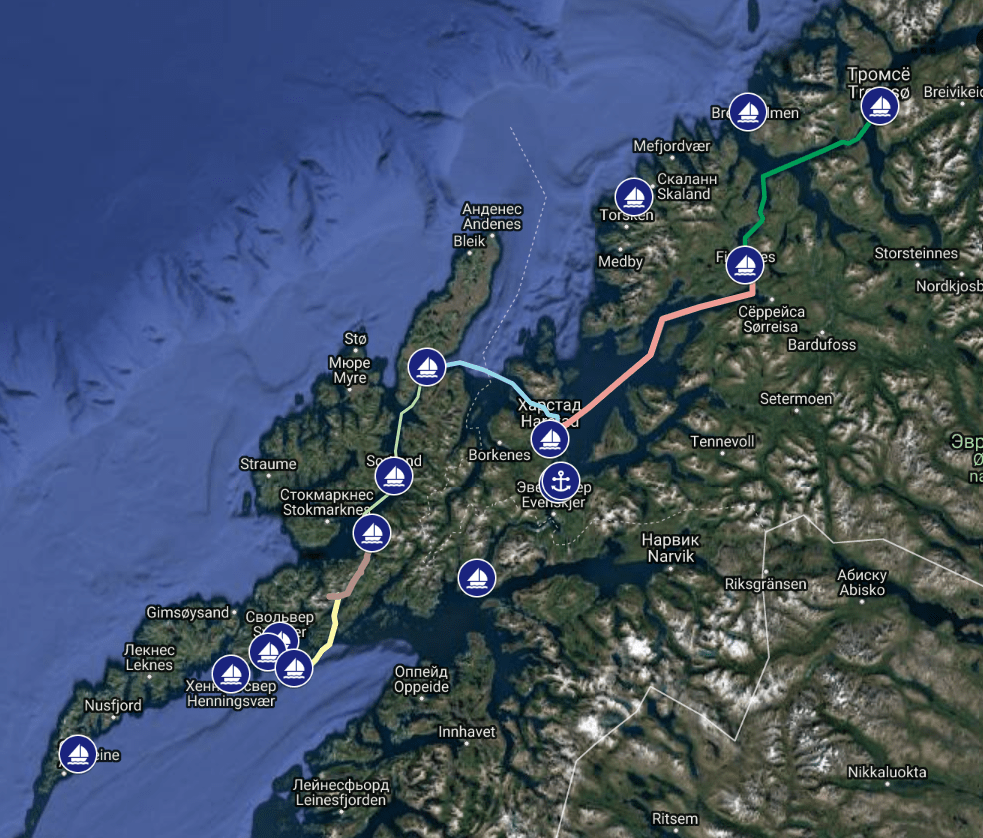 Yachting in Norway – The Lofoten Iclands