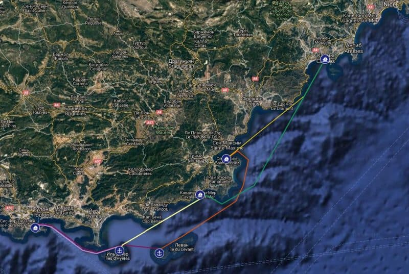 Семейный яхтинг у Лазурного берега Франции. Академия юных мореплавателей — 1-я смена 2021