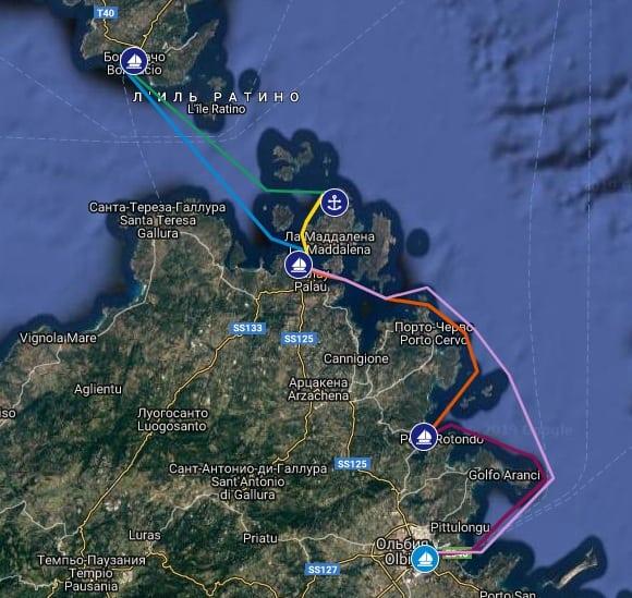 Семейный яхтинг на Сардинии. Академия юных мореплавателей — 3-я смена 2021